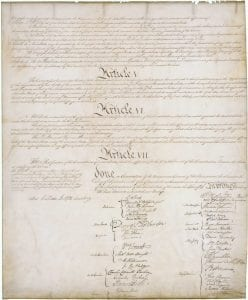 The US Constitution Page 4