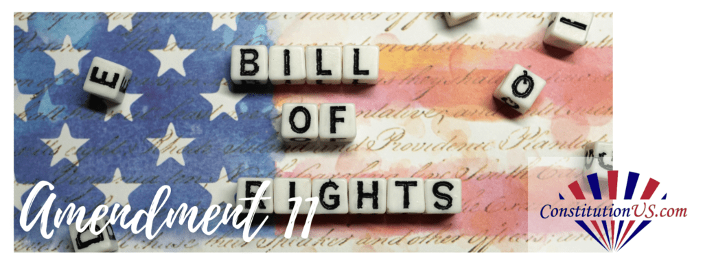11th Amendment to US Constitution
