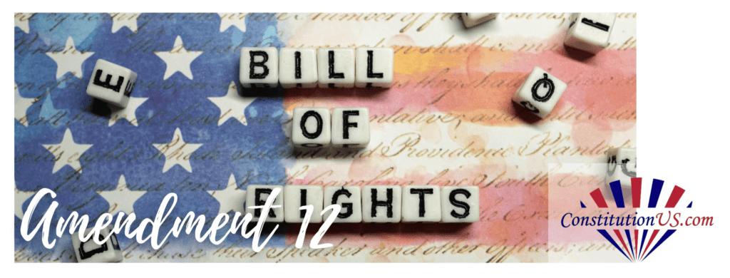 12th Amendment to US Constitution