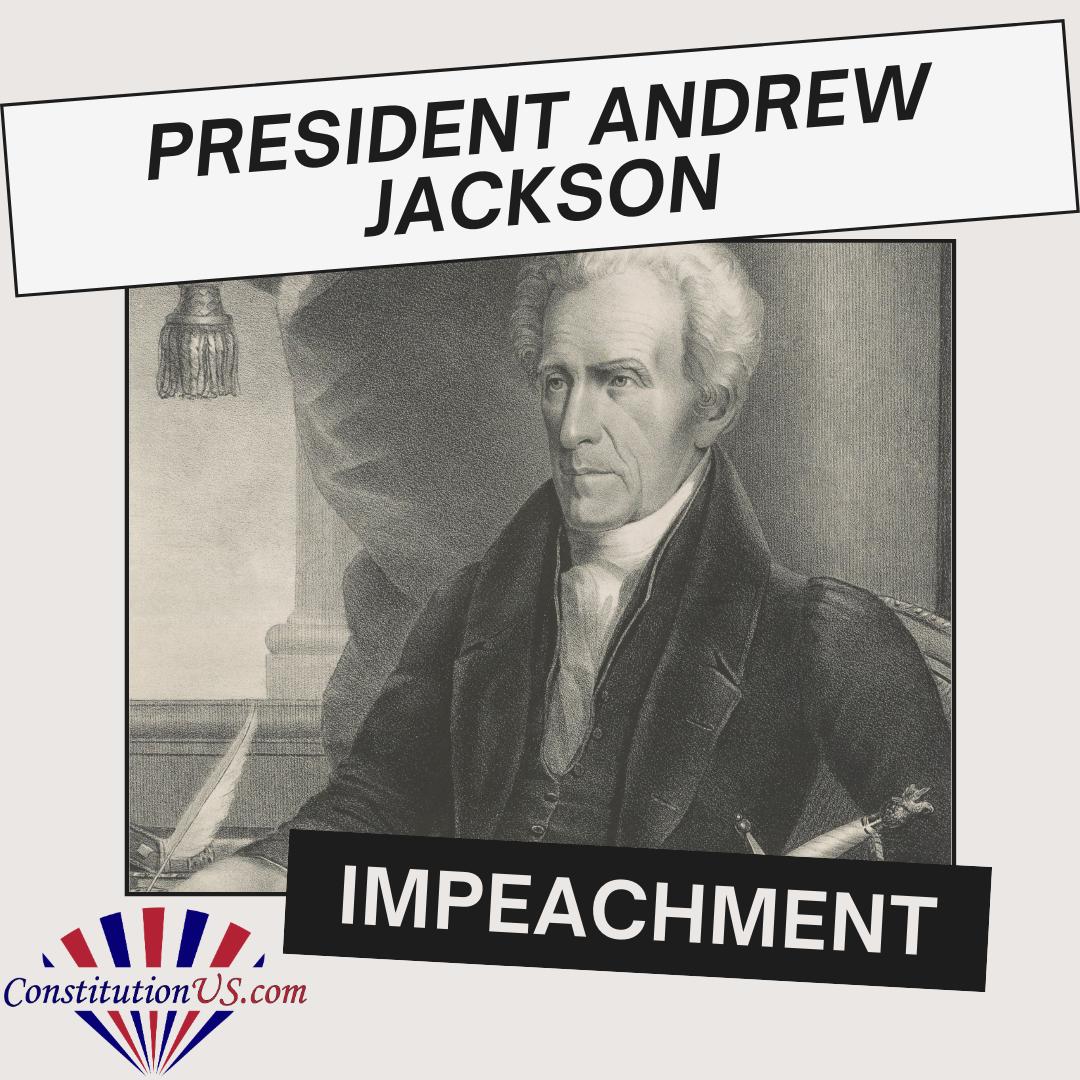 andrew jackson impeachment
