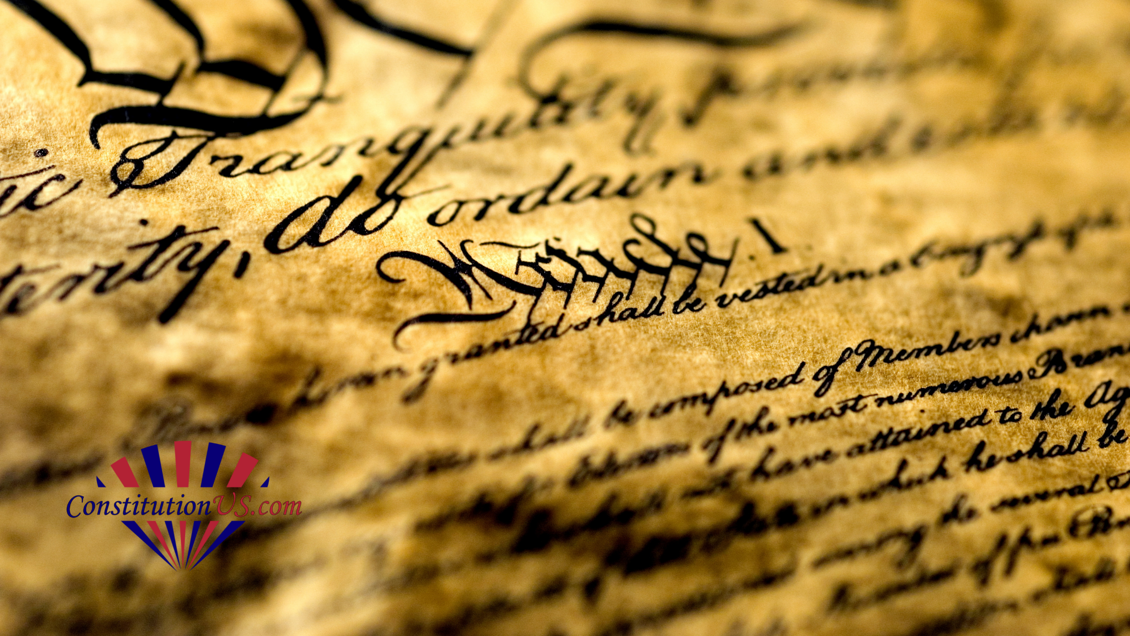 Image showing article 1 from the US Constitution